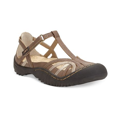 jbu sandals jambu jbu drift sandals in brown mocha lyst