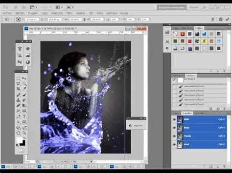 tutorial photoshop cs5 efecto explosión de cara como poner alas a una foto como angel con photoshop cs4