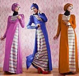 Gamis Maxi Spandek Bolero Motif 1415 baju muslim gamis trendi model korea