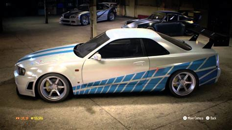 paul walkers nissan skyline drawing need for speed honoring paul walker nissan skyline 2 fast