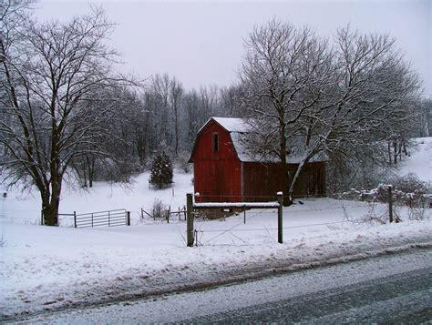 Winter Barn winter barn landscape by deviantgirl77 on deviantart