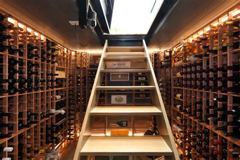 hidden wine cellars     cool
