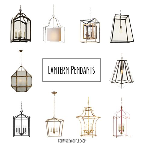 Lantern Style Pendant Lights Comfy Cozy Couture Lantern Pendant Lighting
