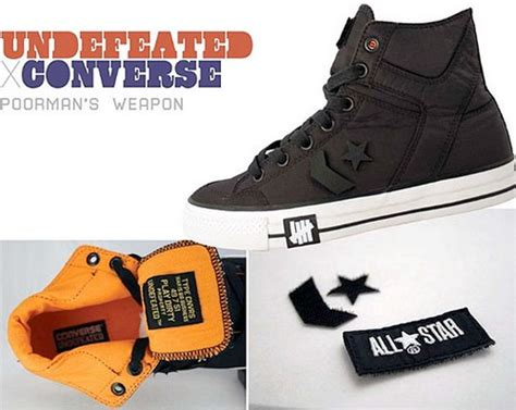 Harga Nike X Undefeated converse x undftd poorman s weapon sneakersbr