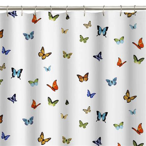 butterfly material for curtains pop butterfly fabric shower curtain shopko