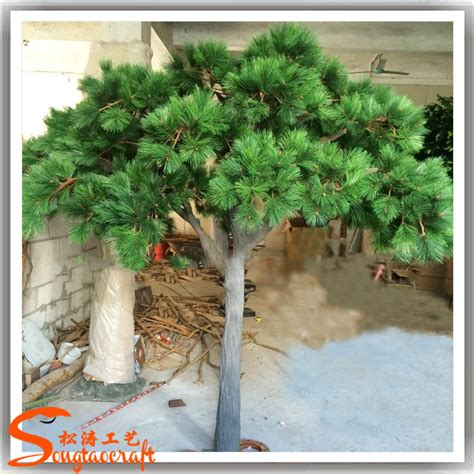 artificial craft customize artificial pine trees big