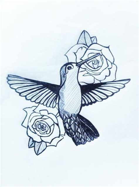 hummingbird with rose tattoos hummingbird images designs