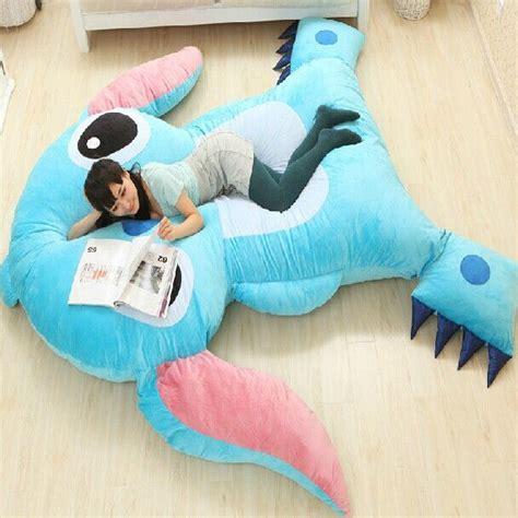 amazon com maxyoyo cartoon soft plush toy bean bag chair seat for large size cartoon anime lilo and stitch plush toys dolls