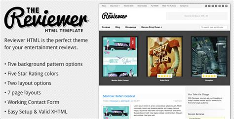 16 Best Entertainment Html Templates Free Premium Themes Review Website Template Free