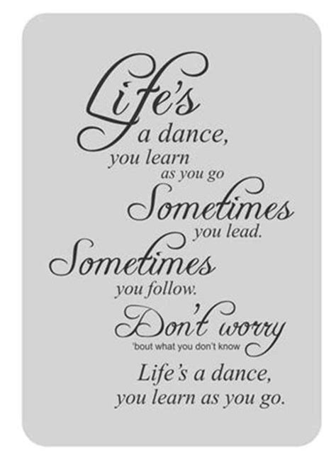 learn to dance to house music life s a dance you learn as you go vinyl wall decal sticker home decor