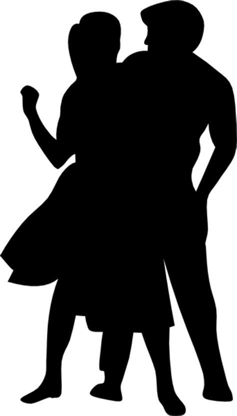 Dancing Couple Fifties Clip Art at Clker.com - vector clip