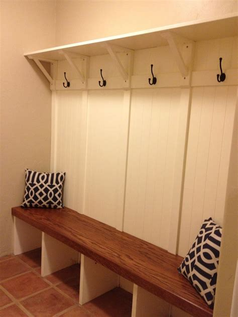 mudroom bench with hooks mudroom built in bench rc handyman services mud room