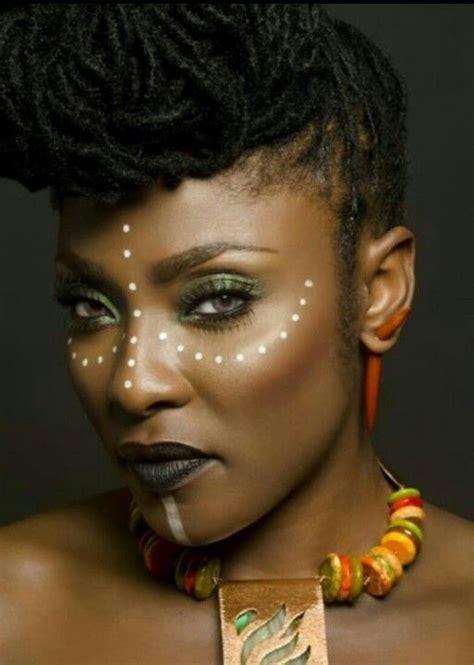 african tribal women face paint african tribal makeup makeup ideas pinterest african