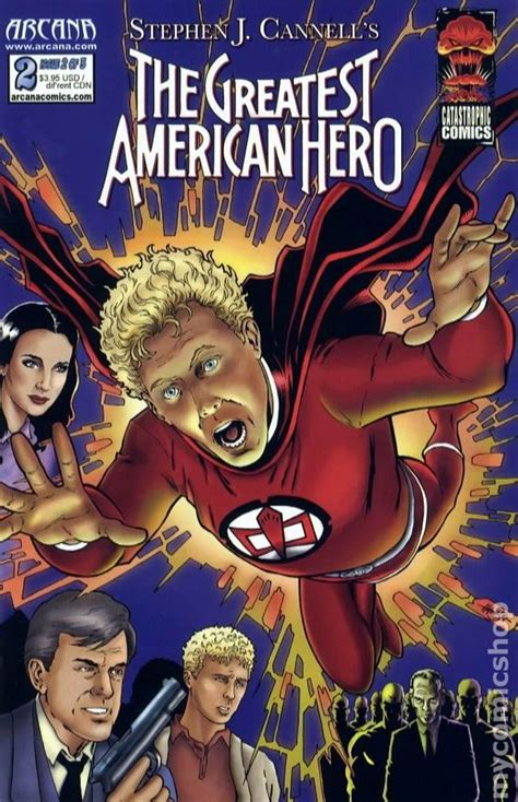The Greatest American Comic Greatest American 2008 Arcana Comic Books