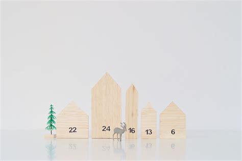 make your own calendar ideas make this mini house wooden advent calendar diy home