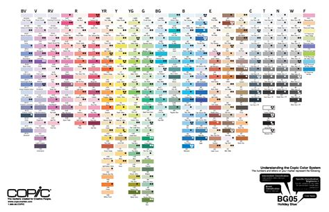 Pantone Color Pallete 2012 nuancier copic complet by myrhashyll on deviantart
