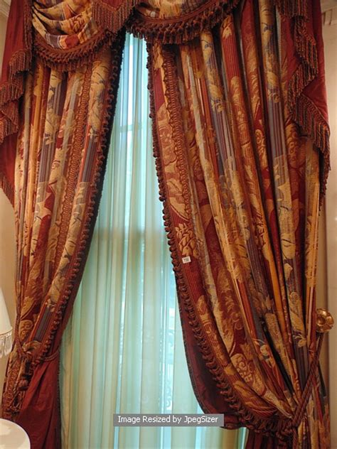 burgundy and gold curtains a pair of gold and burgundy curtains supplied by jacquard