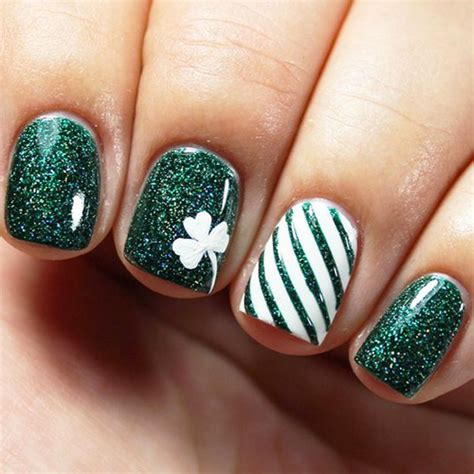 st patricks day nails   st patricks day