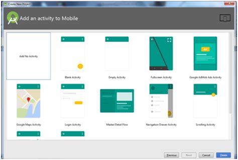 tutorial membuat android studio tutorial android studio pindah layout activity a ke
