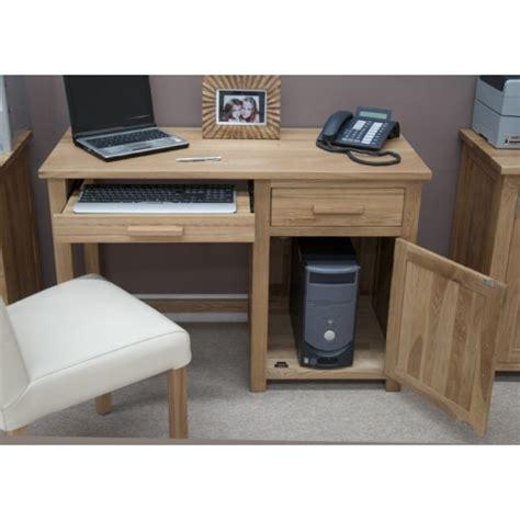 Modern Oak Desk Opus Modern Oak Small Desk