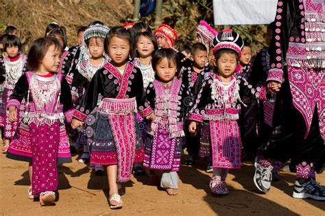 hmong hill tribe children editorial image image 28723170