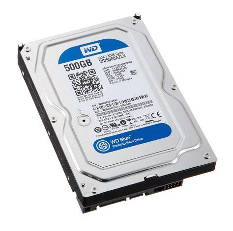 Hdd Ssd Wd Blue 500 Gb Sata ổ cứng hdd western blue 500gb sata3 7200rpm