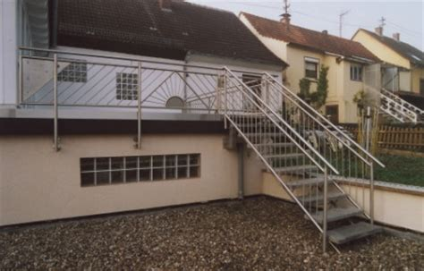 Balkongeländer Mit Treppe by Gel 228 Nder Edelstahlgel 228 Nder Als Balkongel 228 Nder Mit Einer
