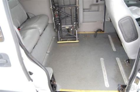 sell used 2005 ls used 3 4l v6 handicap wheelchair r braun entervan lowered floor chevy in