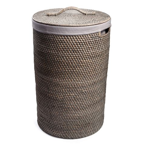 Big W Laundry Rattan Greywash Large Laundry Her