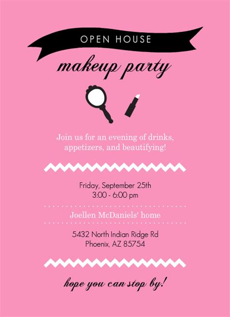 mary kay party invitations joy studio design gallery