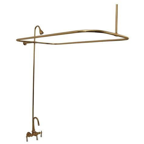 3 foot bathtub pegasus 3 handle claw foot tub faucet without hand shower in polished brass 4122 pb