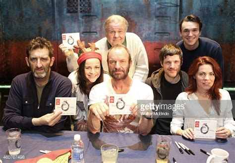 Cd Audiophile Sting The Last Ship Usa the last ship original broadway cast cd signing getty images
