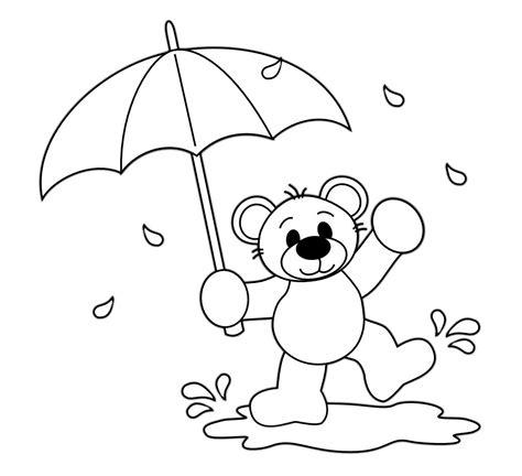 coloring pages for rain rain go away rain rain go away clipart 52