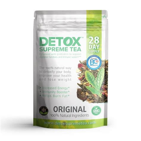 Detox Tea Weight Loss In Stores by Detox Supreme Weight Loss Probiotic Tea Helps Cleanse