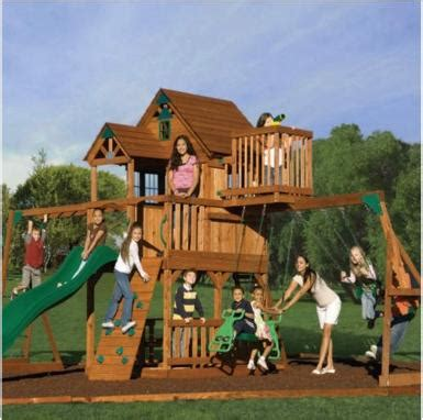 meijer swing sets the people must have their dan miller skyfort playset