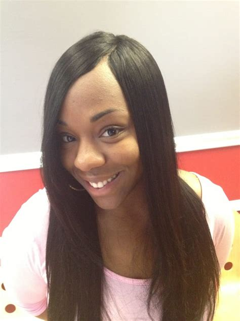 invisible part hair styles invisible part sew in weave hairstyles www imgkid com