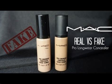 Foundation Mac Original real vs mac cosmetics concealer quot nc35 quot how to spot