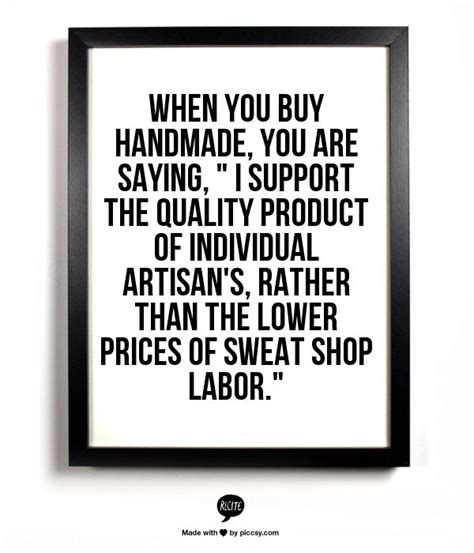 Handmade Quotes - quotes about handmade items quotesgram