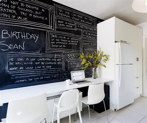 chalk paint adalah ini caranya membuat dinding papan tulis rooang