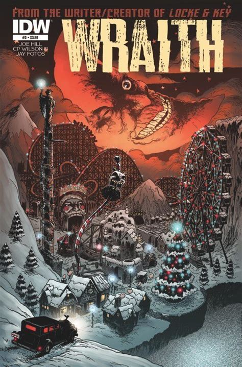 the wraith books the wraith welcome to christmasland 3 idw publishing