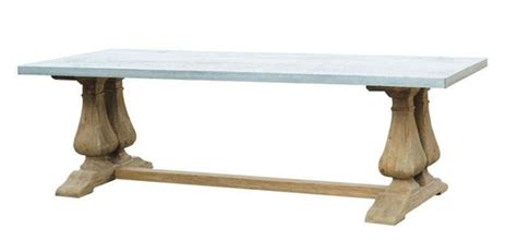 galvanized steel table top 31 best images about galvanized on zinc table