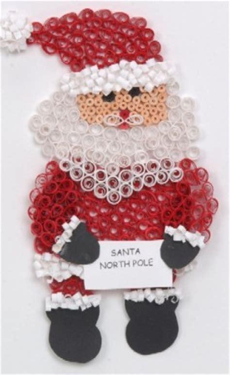 imagenes de santa claus reciclado manualidades navide 241 as en filigrana 2010