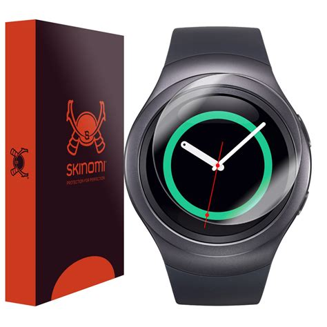 Screen Protector Clear Protective Smartwatch Samsung Gear S2 skinomi techskin samsung gear s2 42mm screen protector
