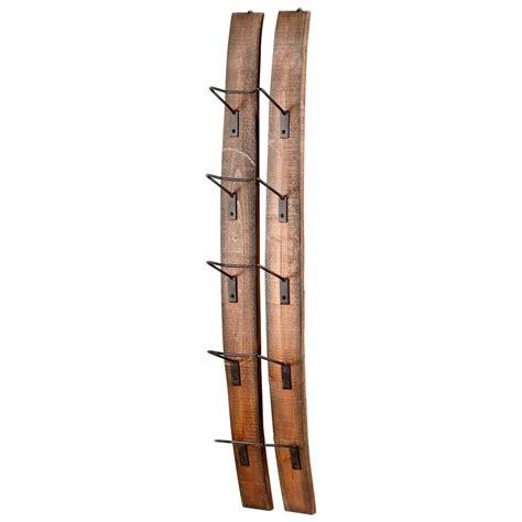 fresno rack and shelving small fresno reclaimed wood modern rustic wine bottle