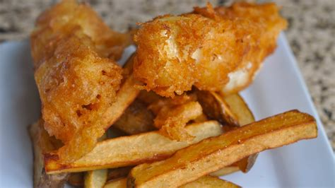 crispy fish and chips recipe world of flavor youtube