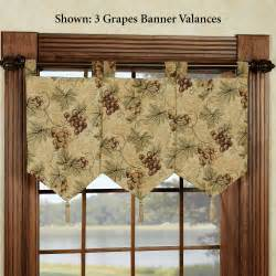 kitchen curtain grapes decorate the house with beautiful