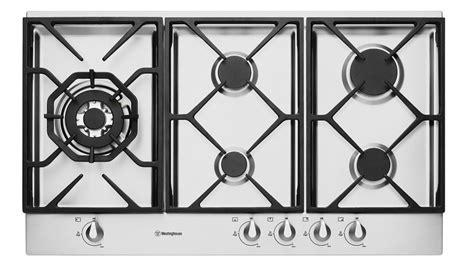 westinghouse 90cm gas cooktop buy westinghouse whg956sa 900mm 5 burner gas cooktop