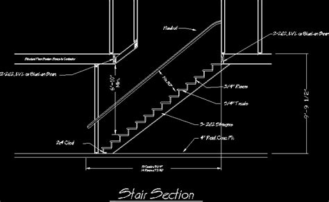 stair section detail dwg stair detail dwg section for autocad designs cad