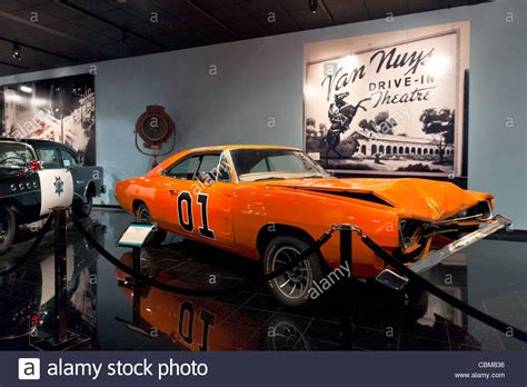 USA, California, LA, Petersen Automotive Museum, Cars of