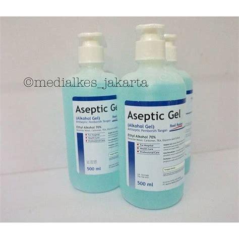 aseptik gel onemedalkohol gelantiseptik pembersih tanganhand sanitizer shopee indonesia